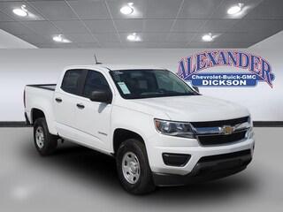 New 2020 Chevrolet Colorado WT Truck Crew Cab for sale in Dickson, TN