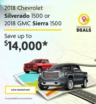 New 2018 Chevy Silverado and GMC Sierra 6/7/2019