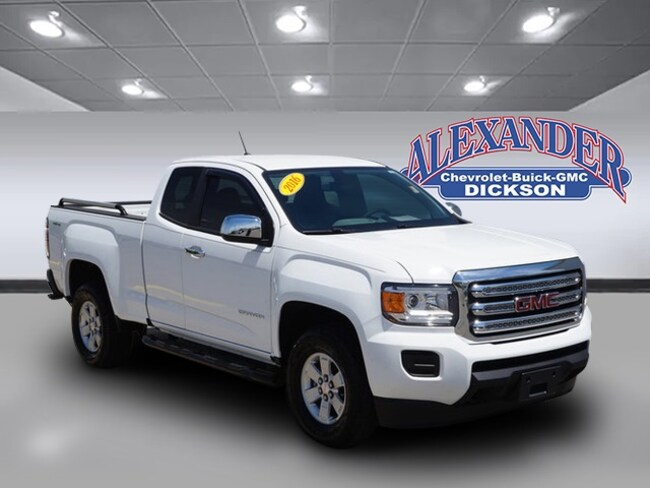 Used 2016 GMC Canyon Truck Extended Cab for sale in Dickson, TN