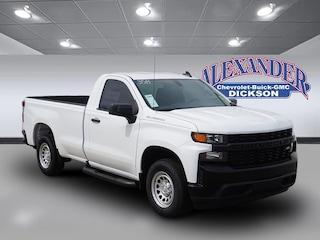 New 2019 Chevrolet Silverado 1500 Work Truck Truck Regular Cab for sale in Dickson, TN