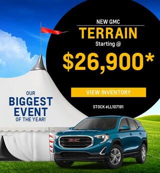 New 2020 GMC Terrain 8/2/2019