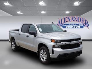 New 2019 Chevrolet Silverado 1500 Silverado Custom Truck Crew Cab for sale in Dickson, TN