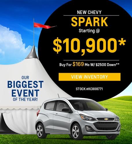 New 2019 Chevrolet Spark 8/2/2019