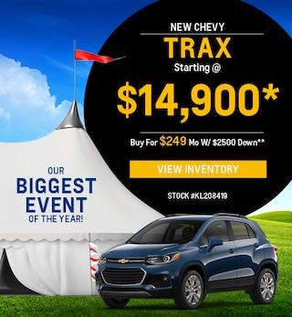 New 2019 Chevrolet Trax 8/5/2019