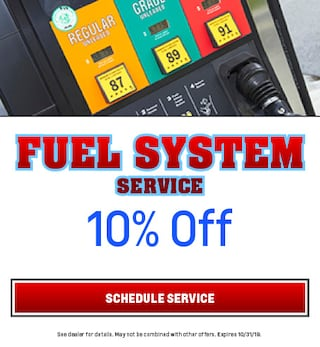 Fuel System Service 10/9/2019