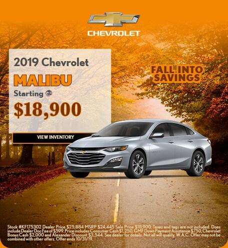 2019 Chevrolet Malibu 10/4/2019