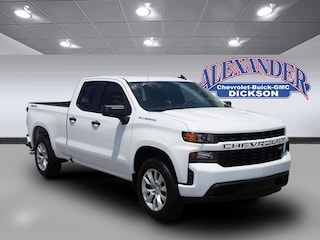 New 2019 Chevrolet Silverado 1500 Silverado Custom Truck Double Cab for sale in Dickson, TN