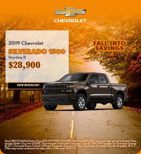 2019 Chevrolet Silverado 1500 10/4/2019