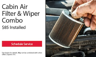 Cabin Air Filter & Wiper Combo