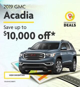 New 2019 GMC Acadia 6/7/2019