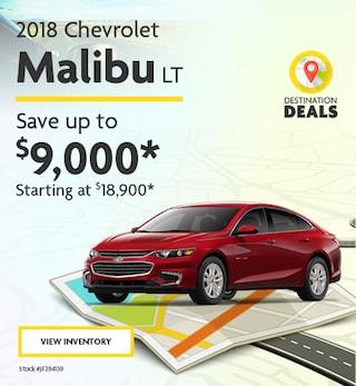 New 2018 Chevrolet Malibu 6/7/2019