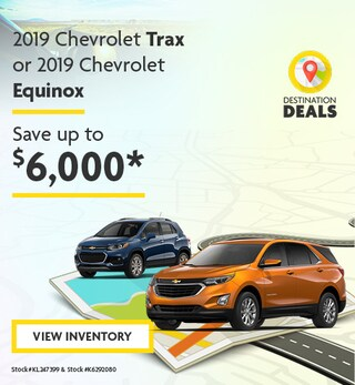 New 2019 Chevrolet Trax and Equinox 6/7/2019