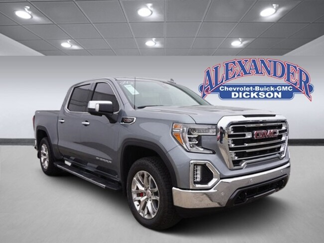 New 2019 GMC Sierra 1500 SLT Truck Crew Cab for sale in Dickson, TN