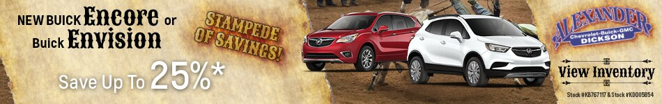 New 2019 Buick Encore and Envision 7/8/2019