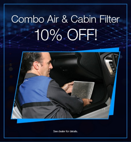 Combo Air and Cabin Filter