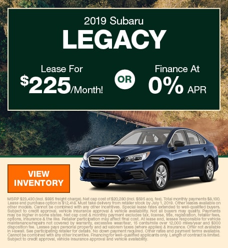 June 2019 Legacy Lease