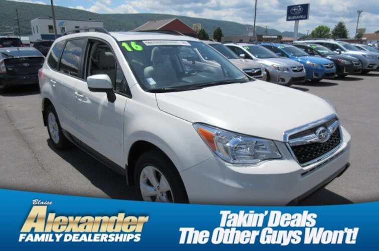 8fb81025f67 Used 2016 Subaru Forester 2.5i Premium For Sale in Montoursville ...