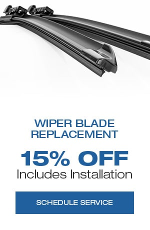 Wiper Blade Replacement, Includes Installation