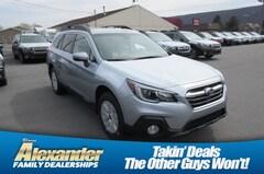 New 2019 Subaru Outback 2.5i Premium SUV 4S4BSAHC2K3328573 near Williamsport in Montoursville, PA