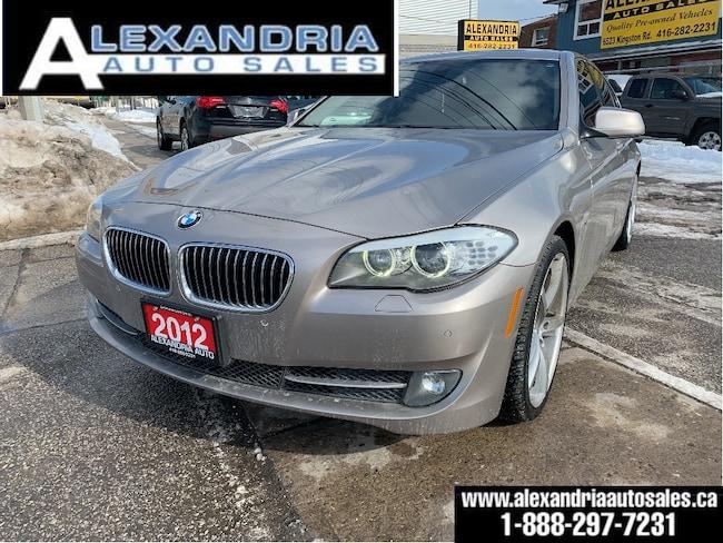 2012 BMW 5 Series 528i xDrive/navi/sunroof/like new/safety includes Sedan
