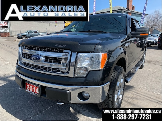 2014 Ford F-150 XLT/5.0V8/4X4/super crew/clean/safety included Super Crew