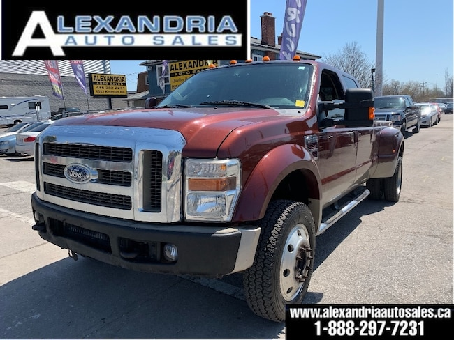 2008 Ford F-450 KING RANCH DUALLY 4X4 Super Crew