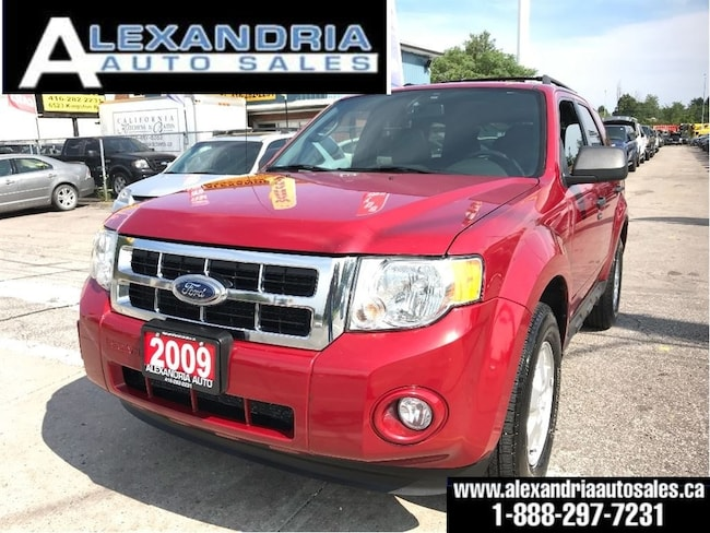 2009 Ford Escape XLT/LEATHER/SUNROOF/128Km/safety included SUV