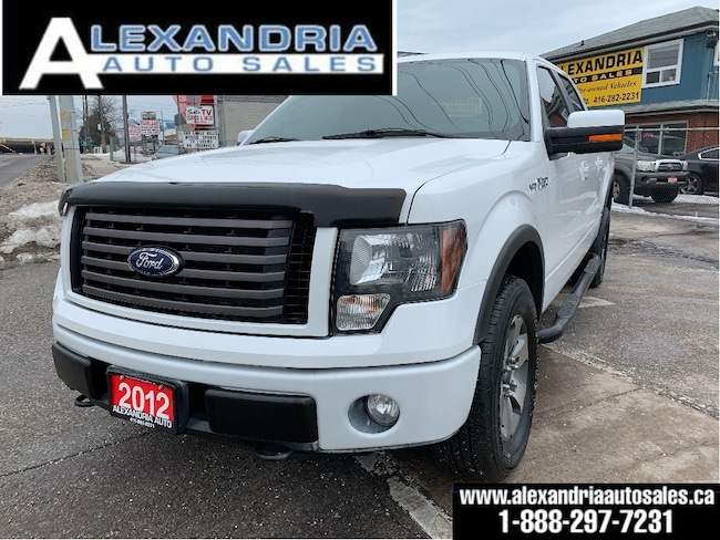 2012 Ford F-150 FX4/5.0V8/like new/1owner/accident free/safety inc Super Crew