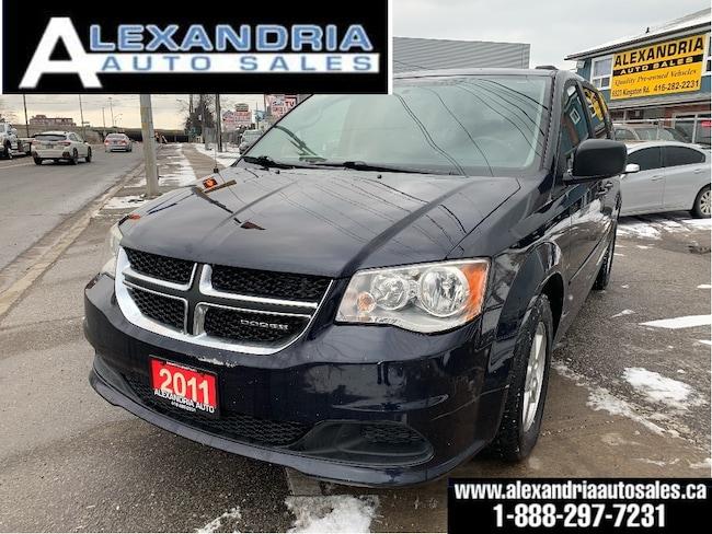 2011 Dodge Grand Caravan SXT/dual power doors liftgate/stow n go/safety inc Van