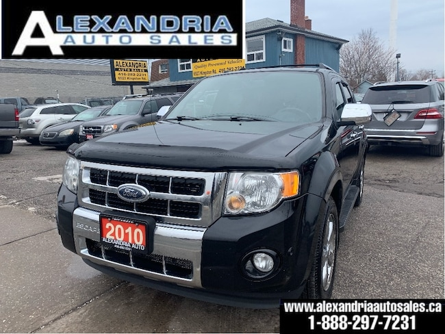 2010 Ford Escape Limited/4x4/leather/sunroof/safety included SUV