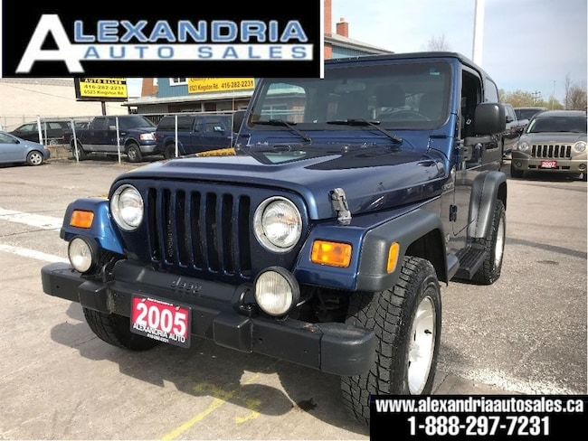 2005 Jeep TJ Sport/RUST FREE/safety included/new tires SUV