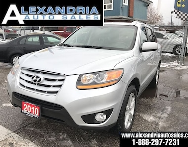 2010 Hyundai Santa Fe GL SPORT leather sunroof V6 SUV