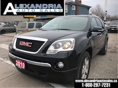 2010 GMC Acadia SLT1/leather/safety included SUV