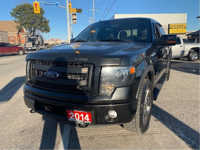 2014 Ford F-150 FX4/leather/NAVI/power sunroof/safety included Super Crew