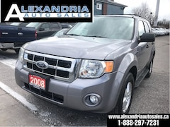2008 Ford Escape XLT/155km/4x4/safety included SUV