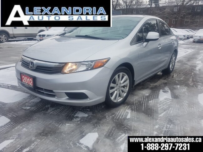 2012 Honda Civic EX/SUNROOF/like new/AUTO/safety included Sedan