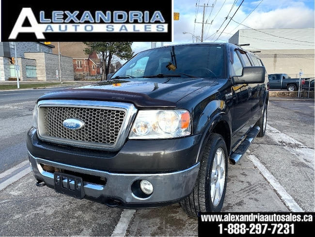 2007 Ford F-150 Lariat/power sunroof/leather/safety included Super Crew