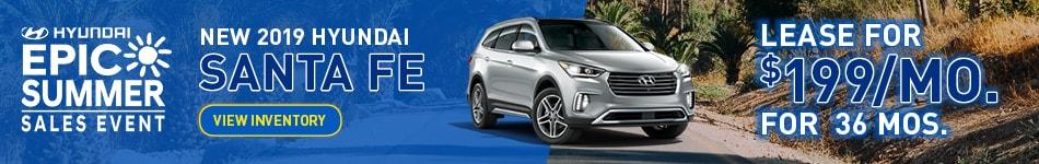 New 2019 Hyundai Santa Fe Special
