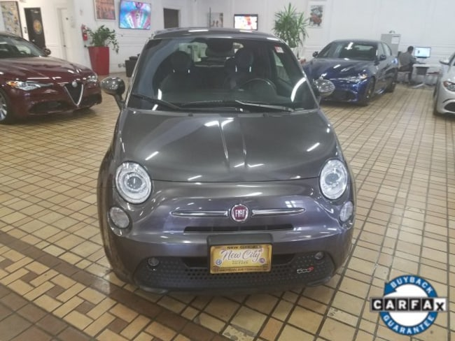 Used 2014 Fiat 500e Battery Electric For Sale Chicago Il
