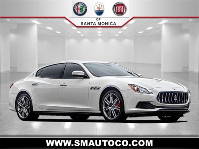 2017 Maserati Quattroporte S Q4 Sedan