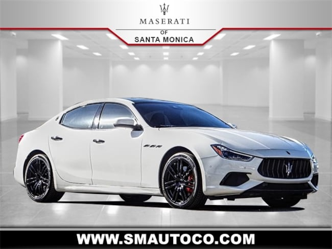 2018 Maserati Ghibli S GranSport Sedan