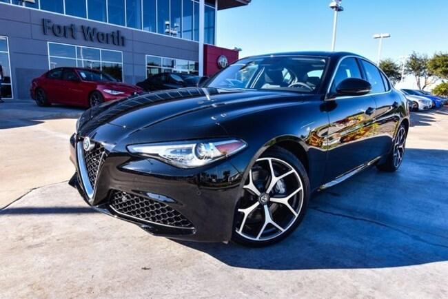 New 2019 Alfa Romeo Giulia For Sale At Alfa Romeo Of Fort Worth