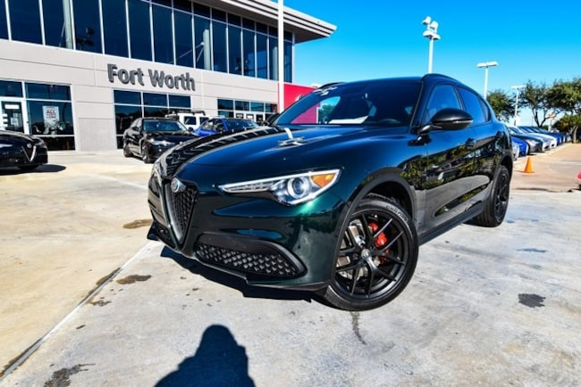 New 2019 Alfa Romeo Stelvio For Sale At Alfa Romeo Of Fort Worth