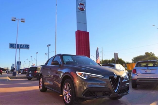 2018 Alfa Romeo Stelvio Ti AWD Sport Utility