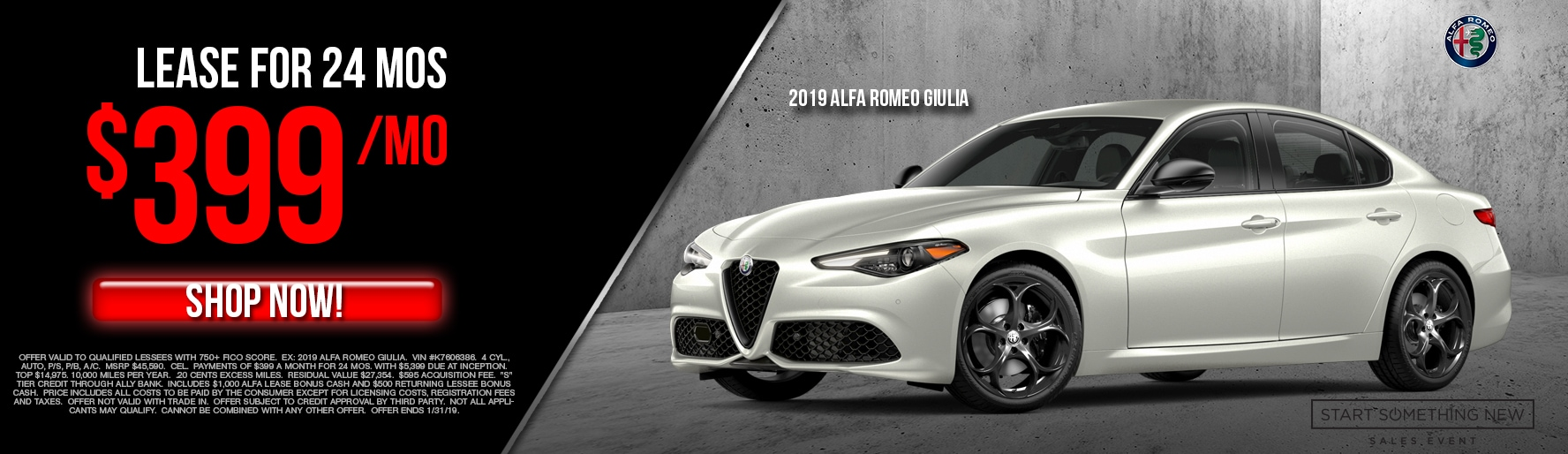 Alfa Romeo Lease Specials And Deals Lease A New Alfa Romeo Today In