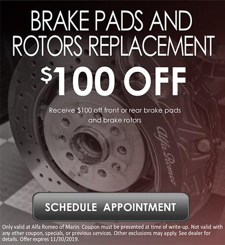 Brake Pads & Rotor Replacement