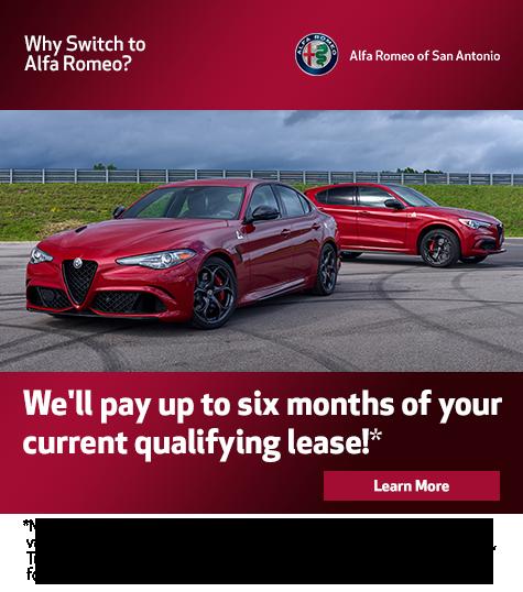 Alfa Romeo Lease >> San Antonio Tx Luxury Vehicle Specials Near Castle Hills Boerne