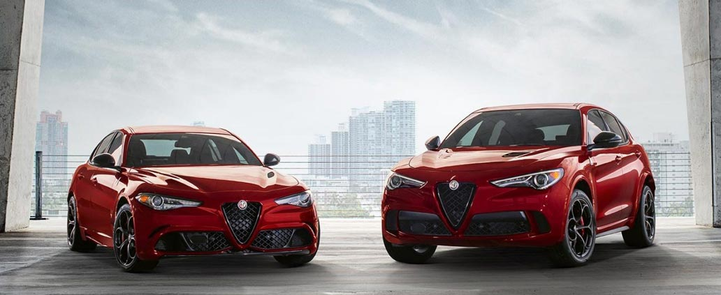 Alfa Romeo Vehicles with AWD