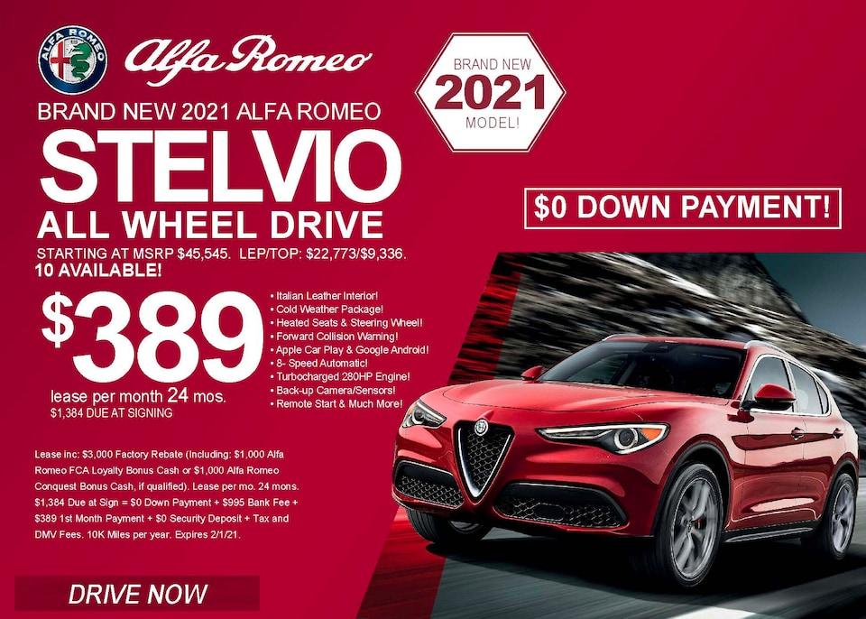 Alfa Romeo Stelvio - January 2021