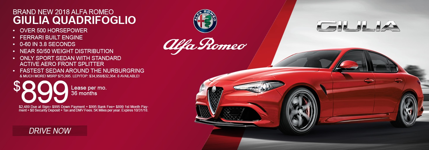 Alfa Romeo Of Westbury Vehicles For Sale In Westbury NY - New alfa romeo for sale